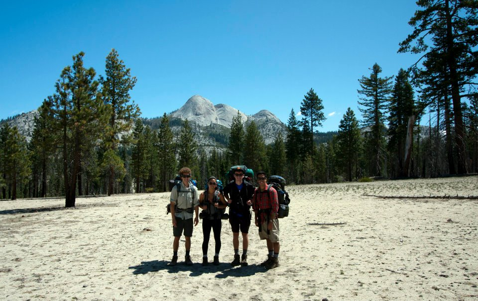 The sand flats were exhausting to hike with a heavy pack on