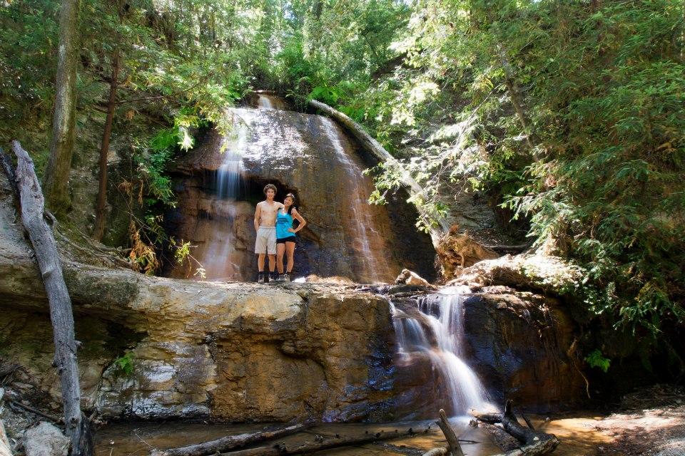 Me and Kyle at Silver Falls