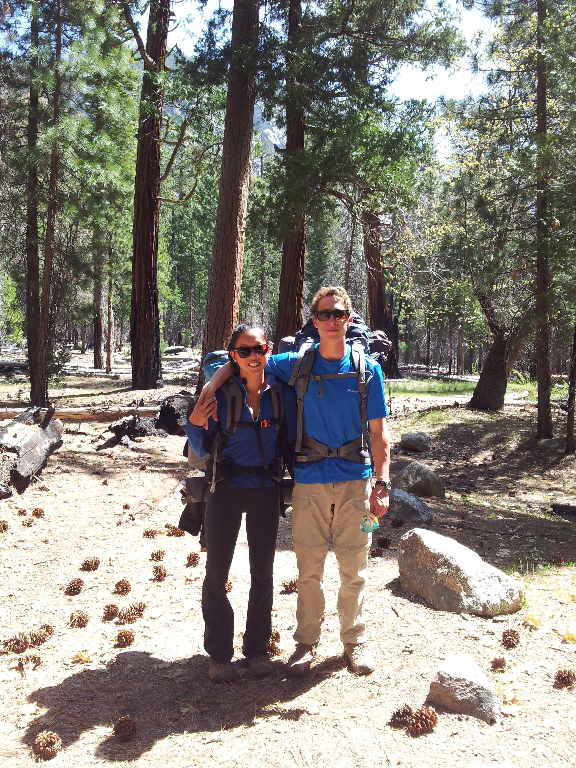 Team at the trail head