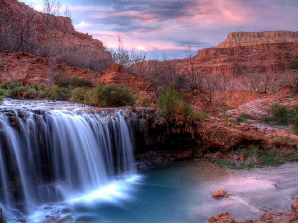 Fifty Foot Falls below Navajo Falls