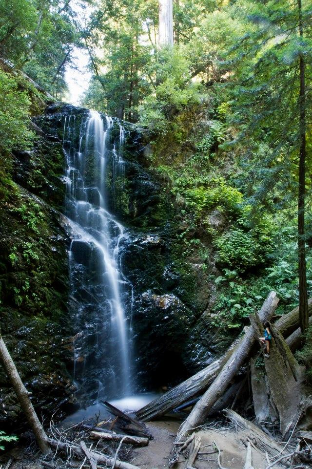 Berry Creek Falls - can you spot me?