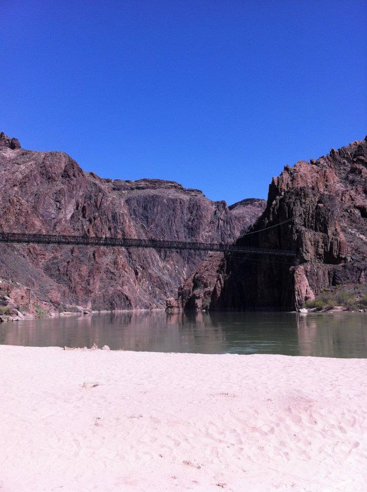 The bridge over Colorado River that we crossed