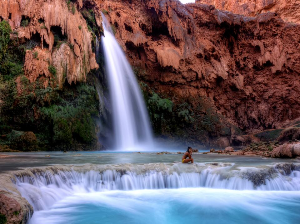 One of my favorite pictures of Havasu Falls