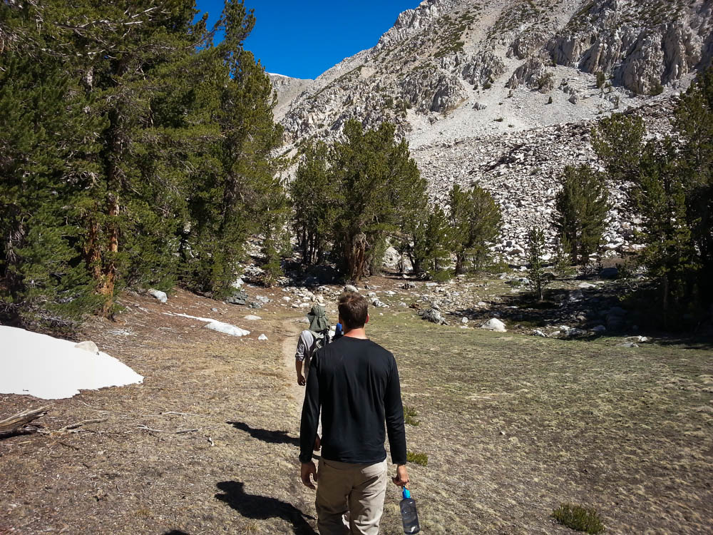 It was a short dayhike up to 6th and 7th Lakes