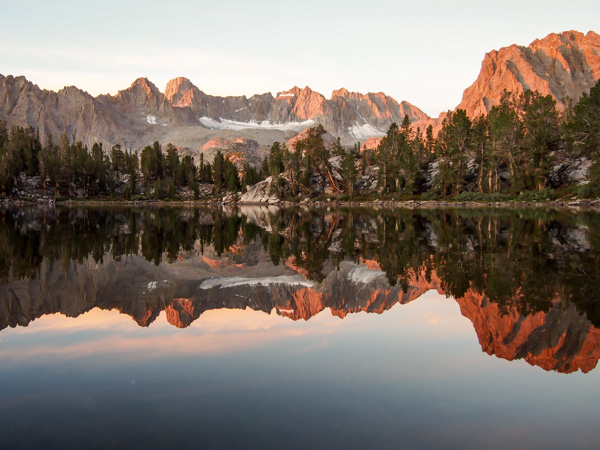 One of my favorite sunrises I've ever seen in the Sierras
