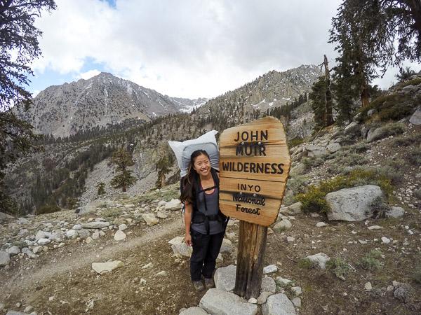 Entering John Muir Wilderness!