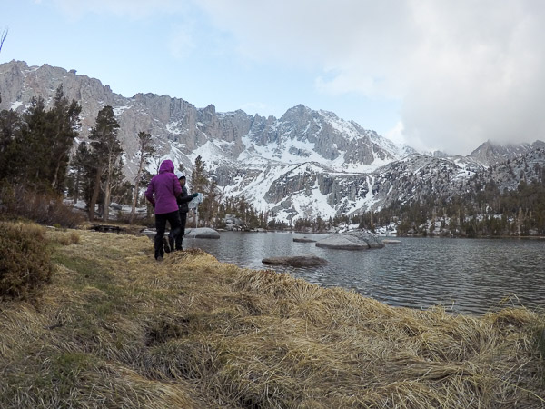 Pumping fresh, alpine water - my favorite kind of water!