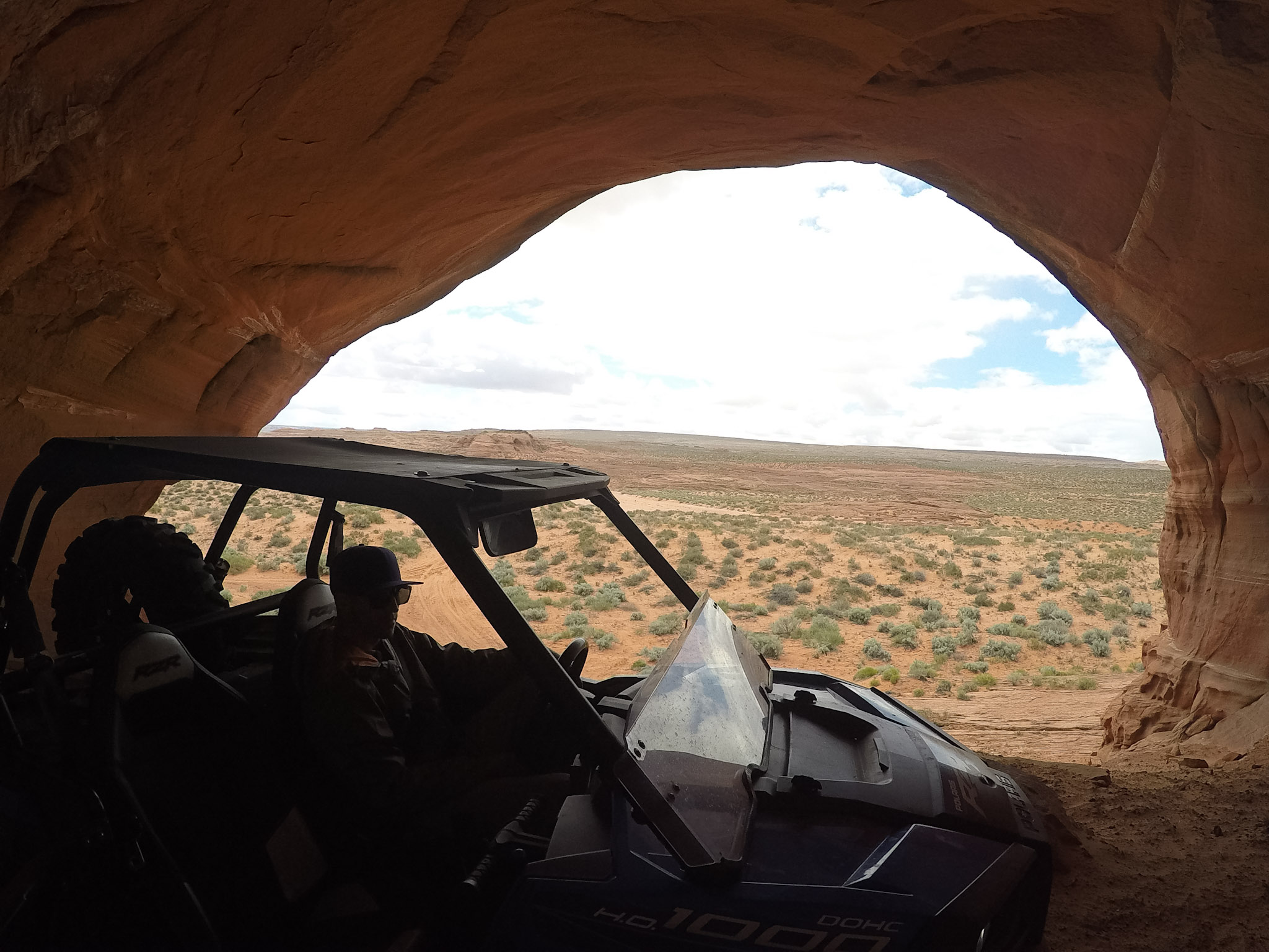 One of the largest caves that the razor could easily drive around in