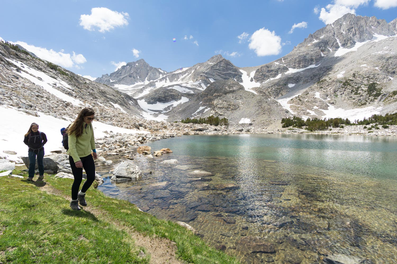 Walking around the perimeter of the NE Treasure Lake