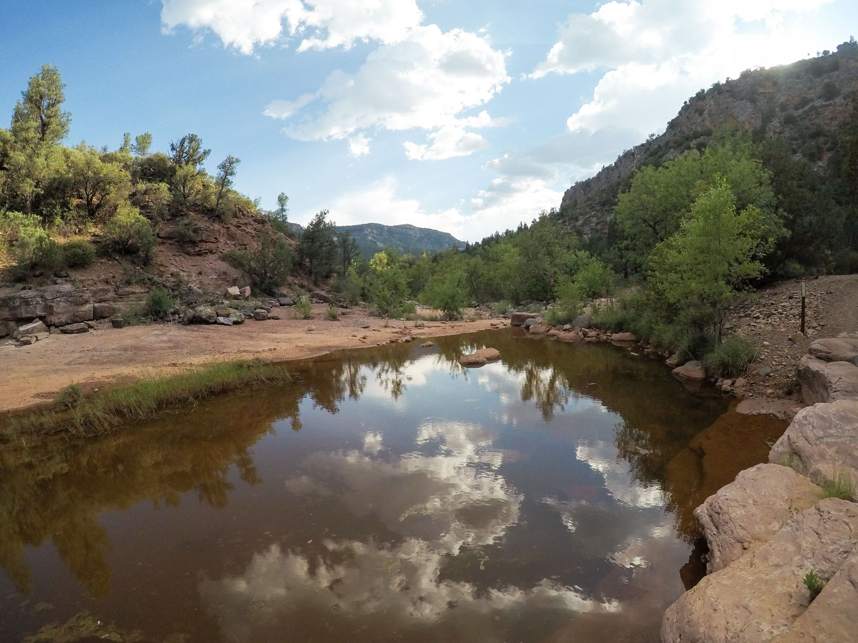 Fossil Creek - Day hikes near Phoenix
