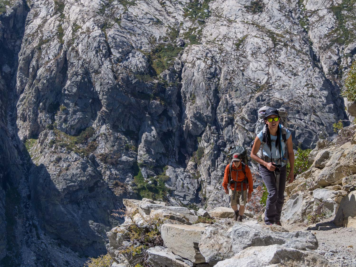 day 3 of a 6 day high sierra trail itinerary