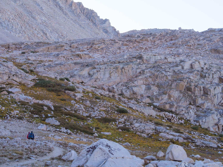 hiking whitney