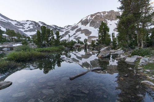 trip report from duck lake ca backpacking