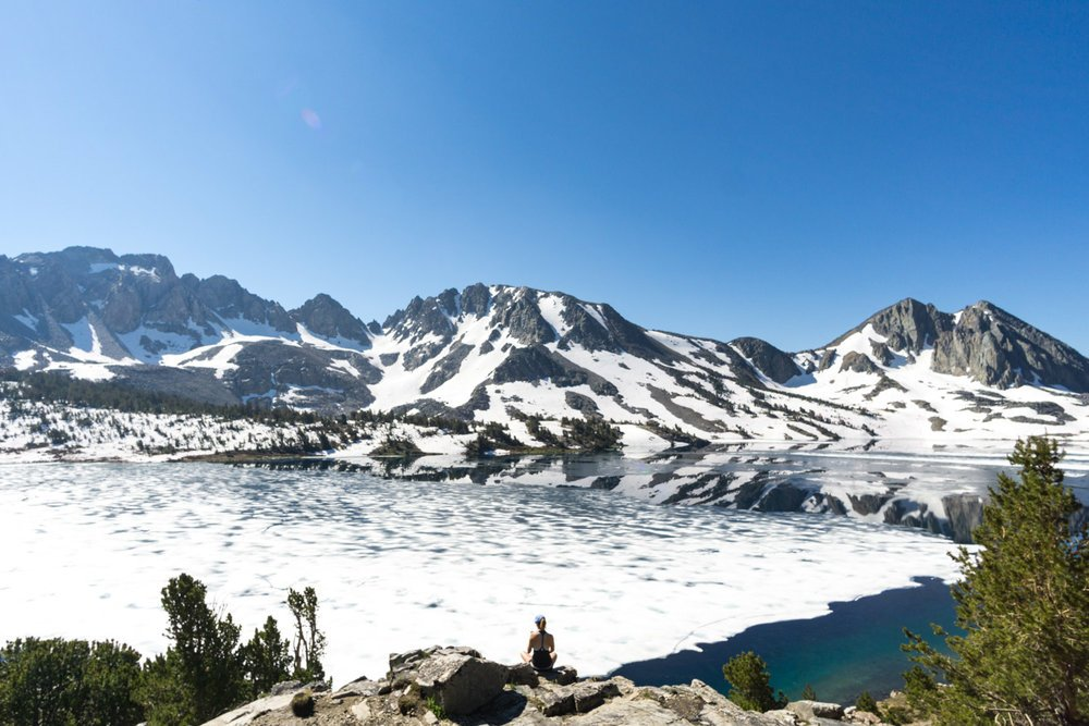 Duck Lake in Mammoth, CA