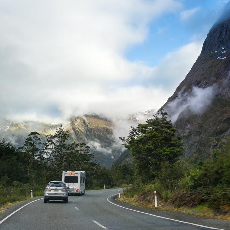 roadtrip through fiordland national park