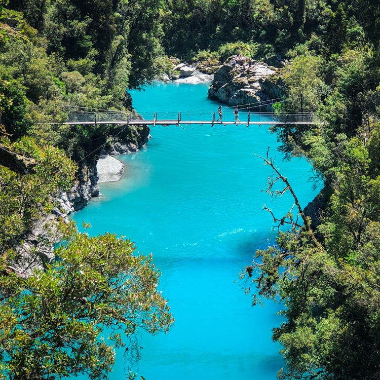 Seeing New Zealand South Island by car