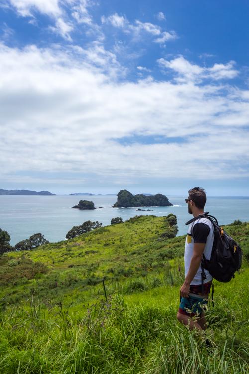 Hiking in Te Whanganui-A-Hei marine reserve