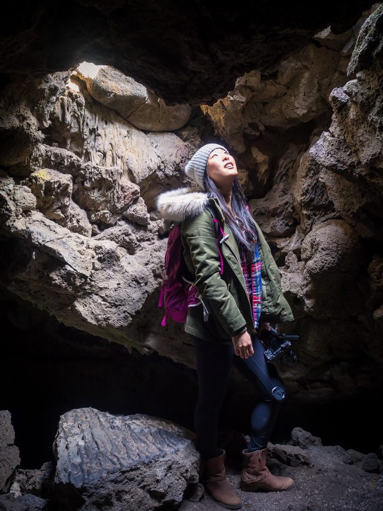 Sunshine Cave at Lava Beds in Siskiyou