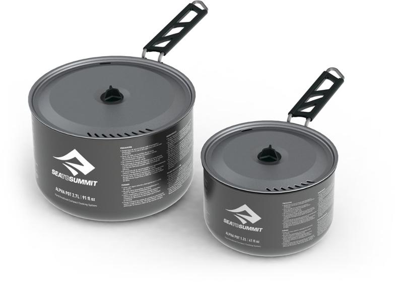 Camp and backpacking pot set - Sea to Summit