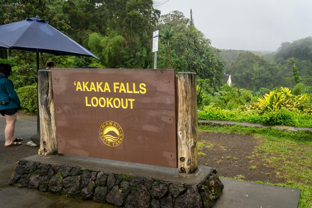 How to get to Akaka Falls