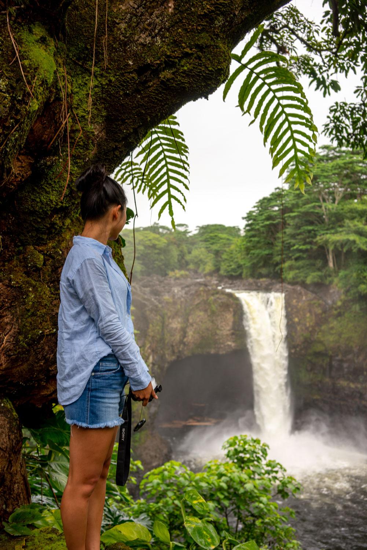 Rainbow falls hike big island