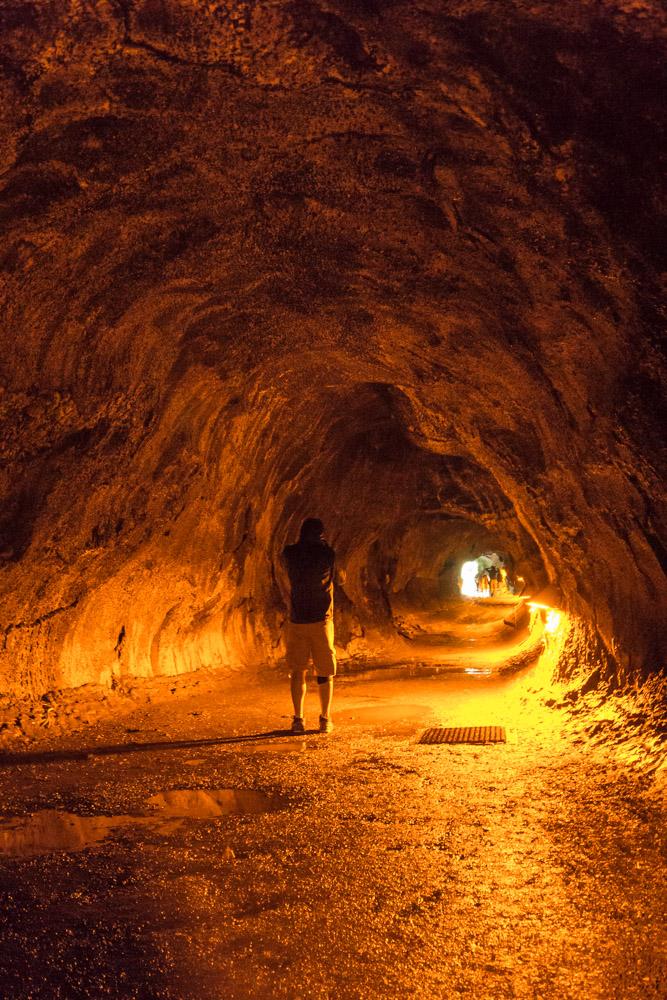Thurston lava tube volcanoes park