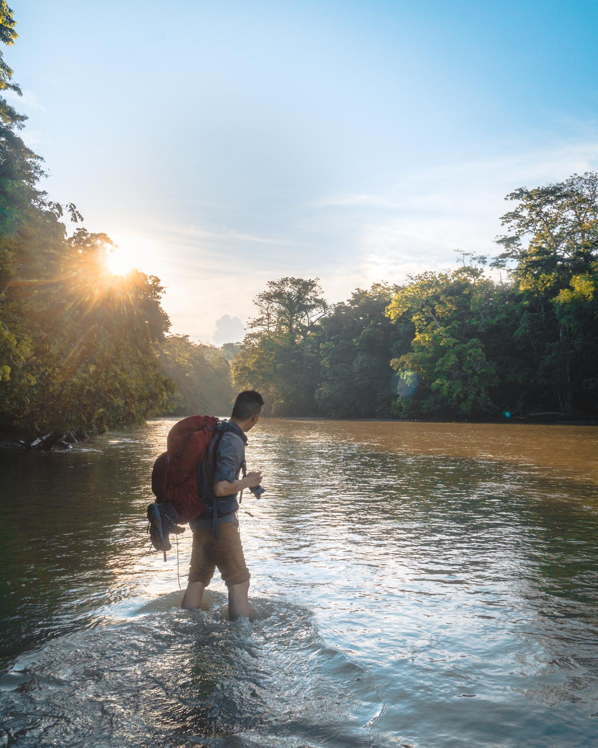 multi day hikes in corcovado national forest