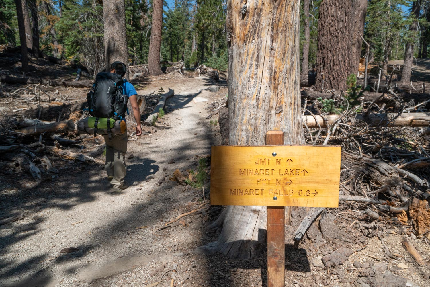 Passing the PCT junction