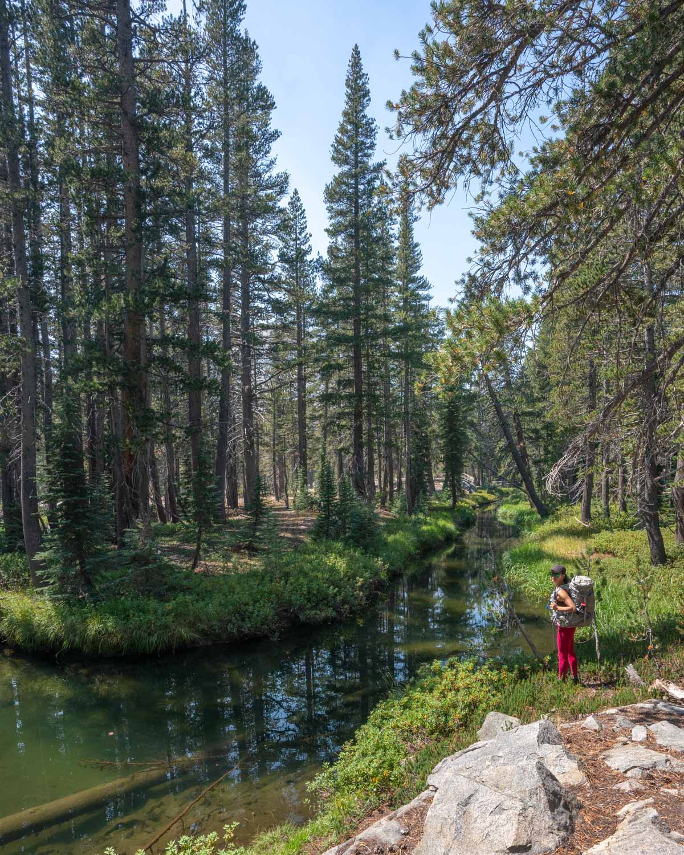 Easy short eastern sierra backpacking trips