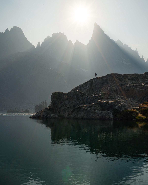 Backpacking minaret lake in one night