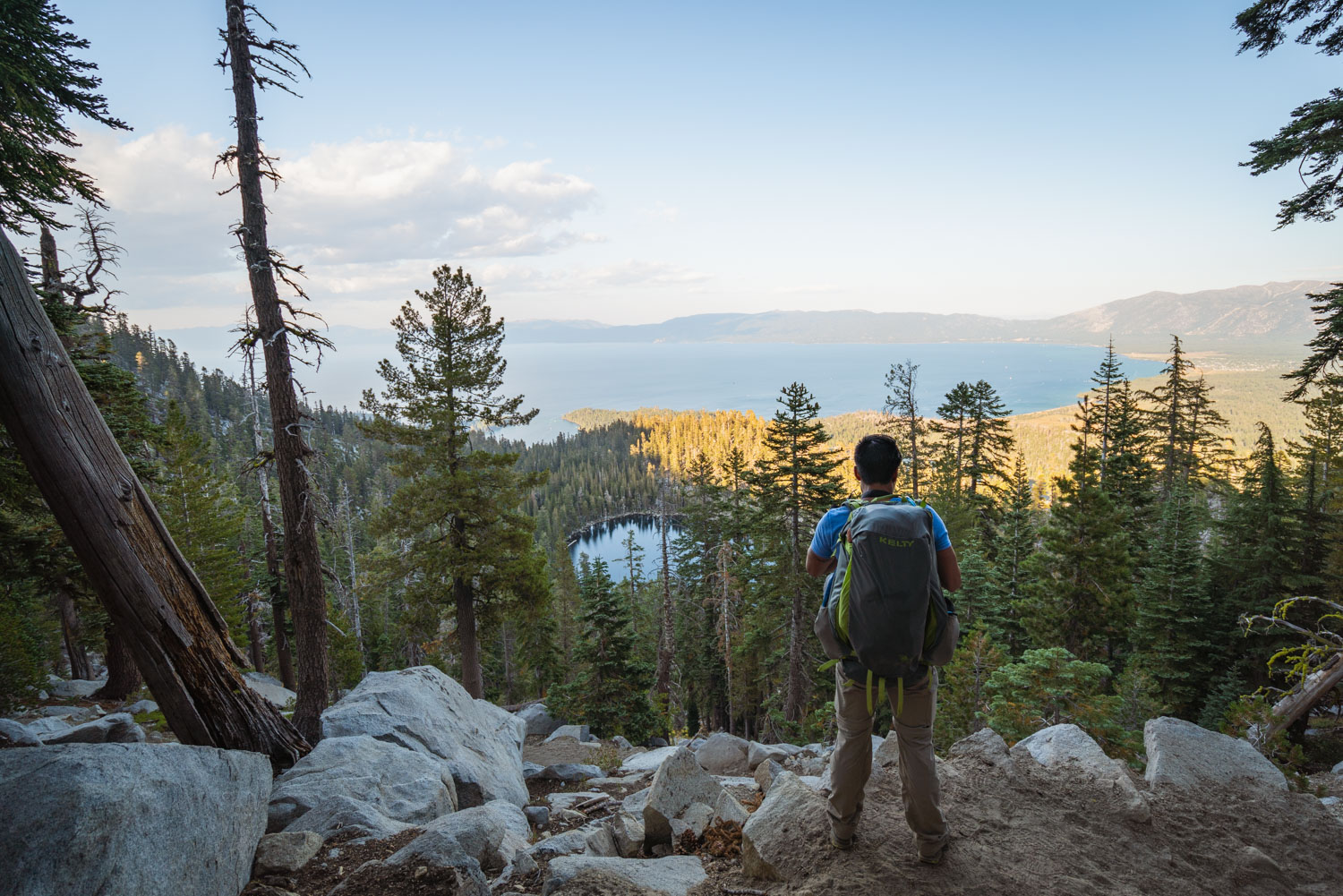Views of the greater Tahoe area