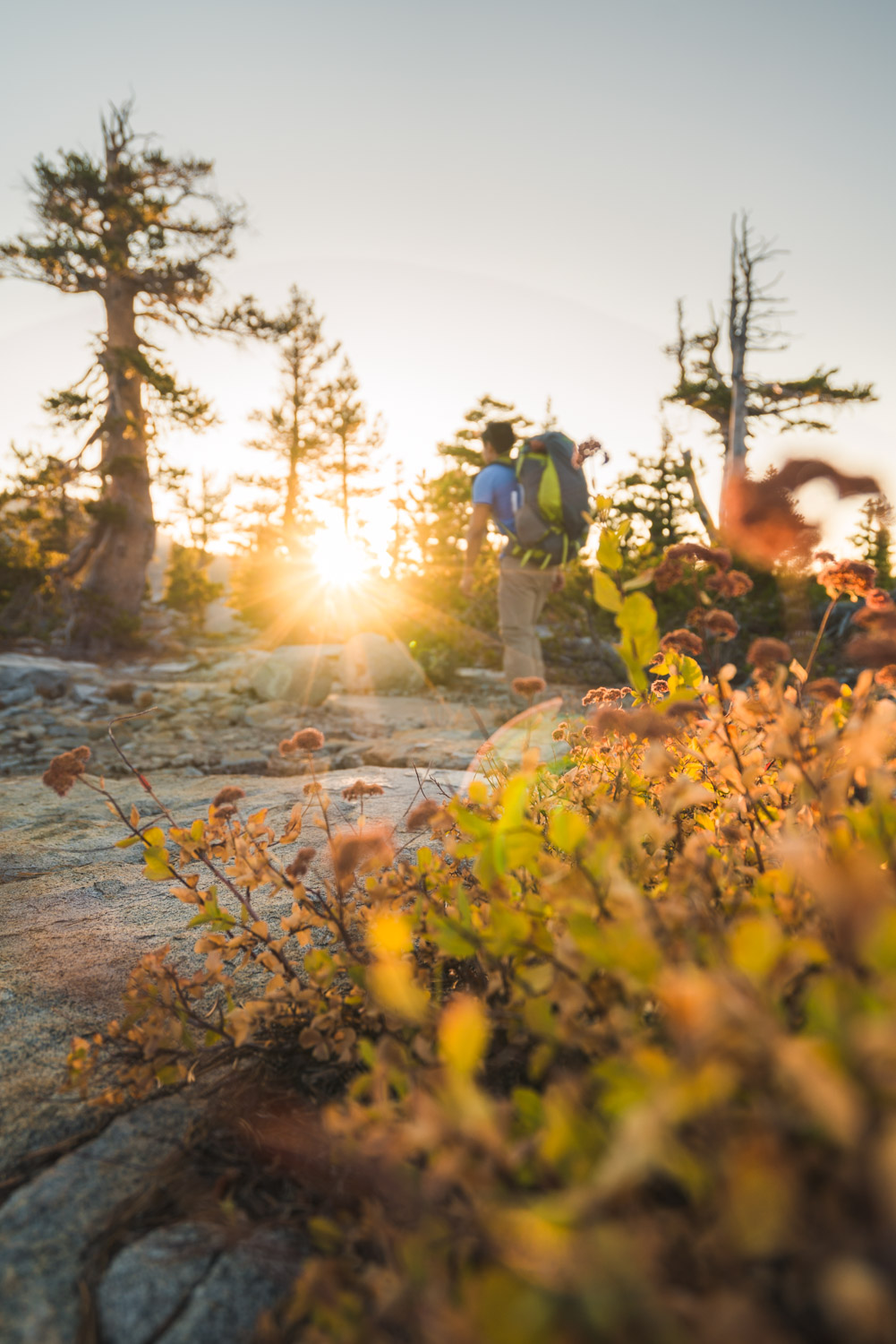 Short backpacking trip ideas Desolation Wilderness