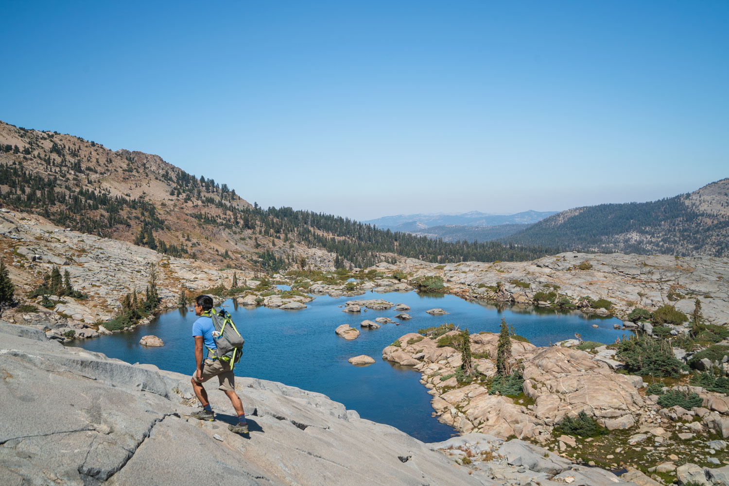 Best backpacking trips in desolation
