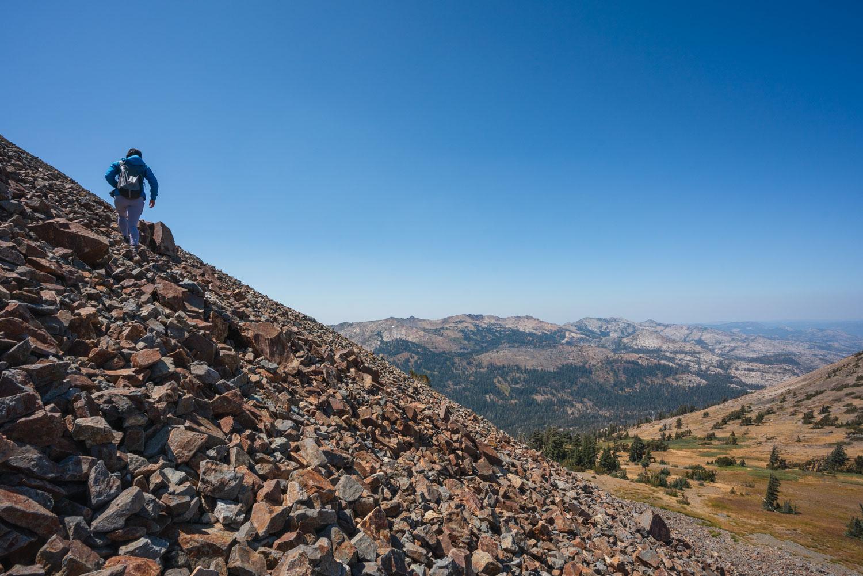 Dick's Peak hike desolation