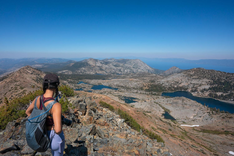 From the summit of Dicks Peak