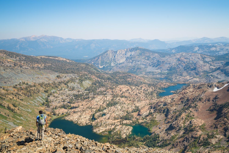 Climbing Dick's Peak in Desolation Wilderness