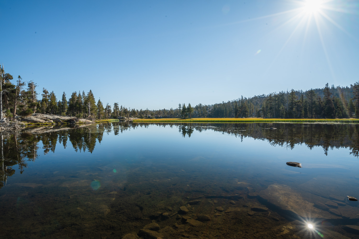 A peaceful Upper Velma Lake