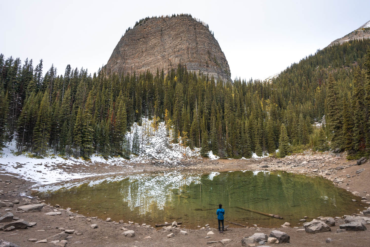 Mirror Lake with the Big Beehive above