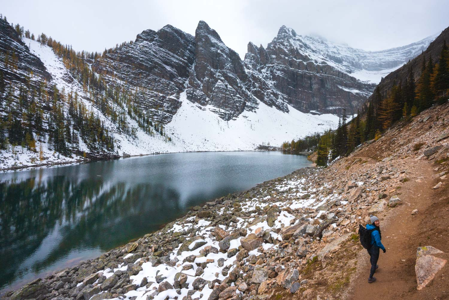 Lake Agnes day hikes in Banff