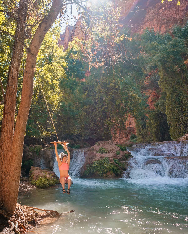 rope swing in Havasu AZ