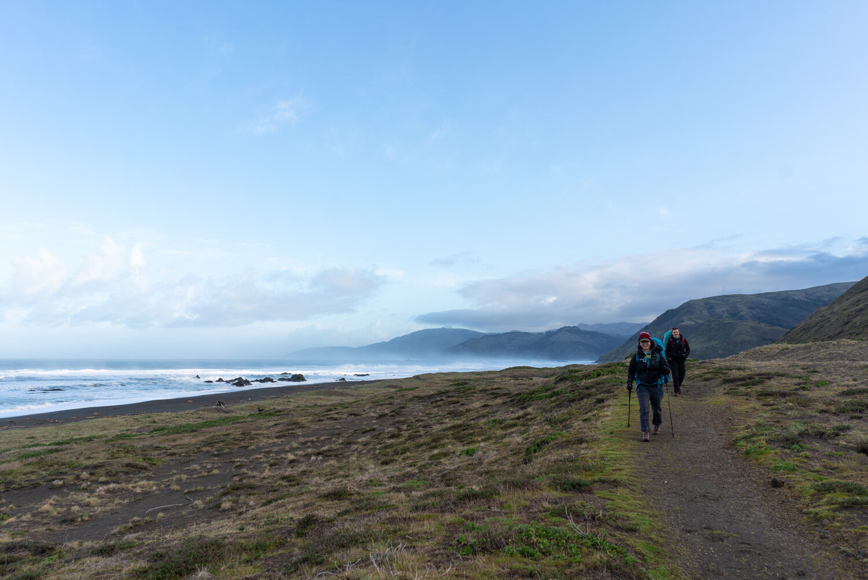 Camp sites Lost Coast Trail