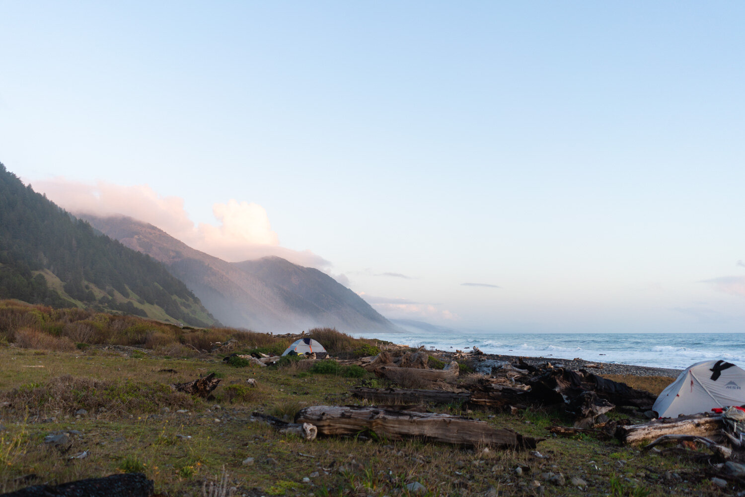 Where to camp on the Lost Coast Trail