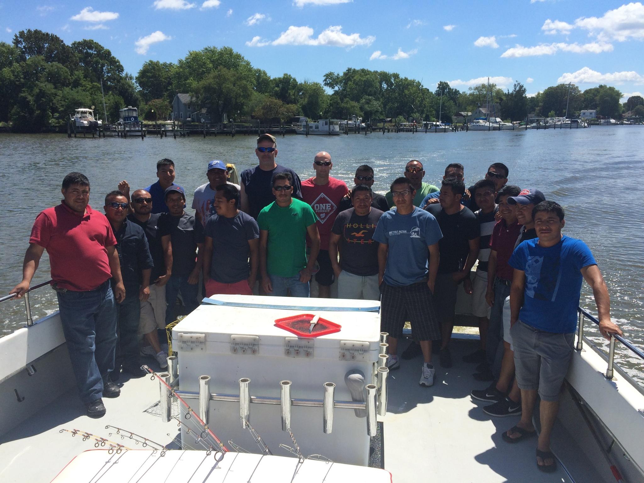 2016 Company Fishing Trip on the Chesapeake Bay