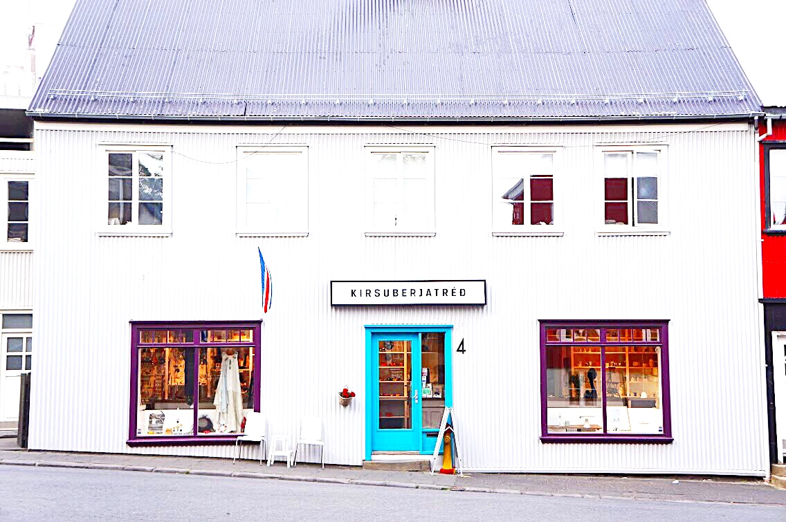iceland travel guide shopping