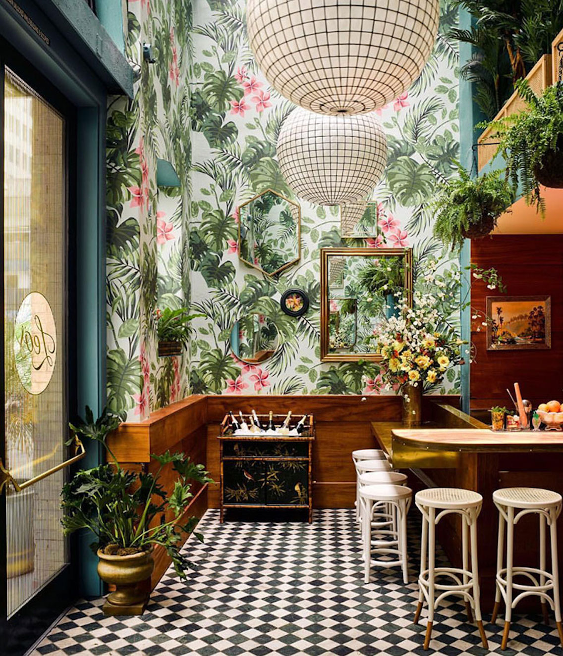 Leo's Oyster Bar via  Architectural Digest