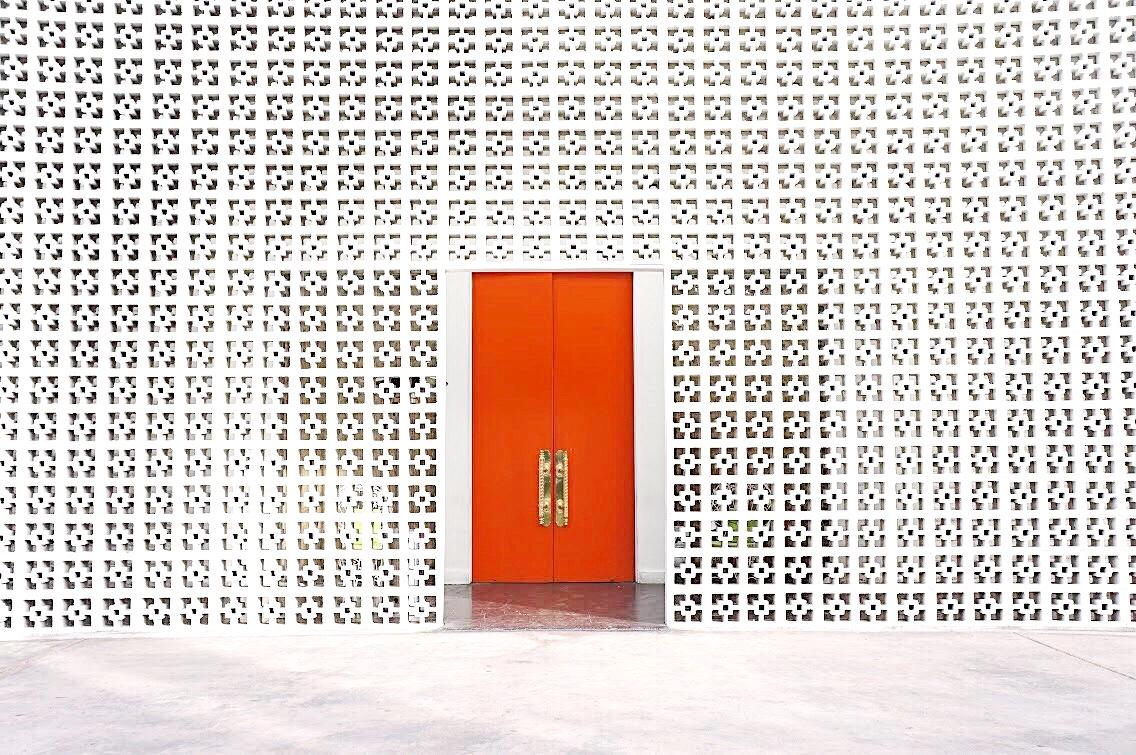 Parker Palm Springs Orange Door