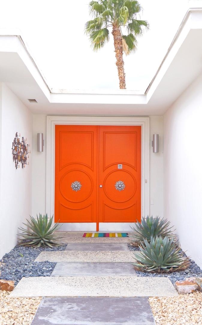Orange Door Palm Springs STRUKTR Studios