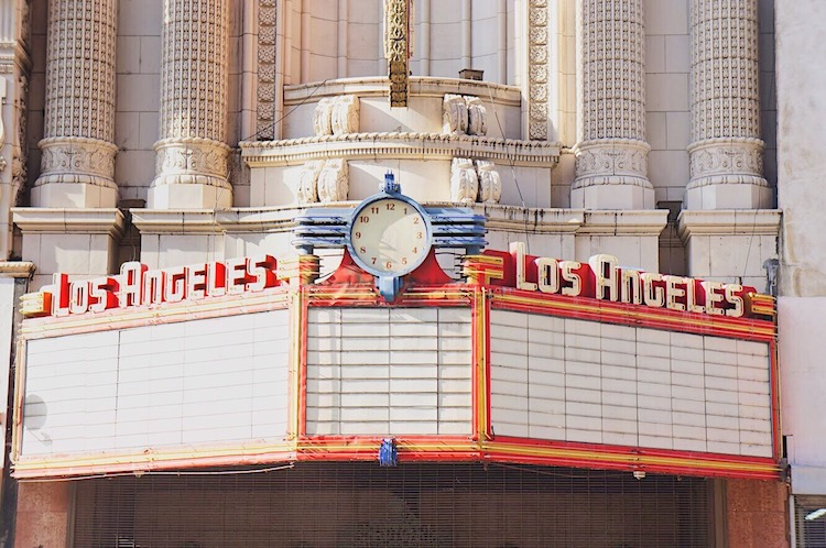 Los Angeles Theater Broadway