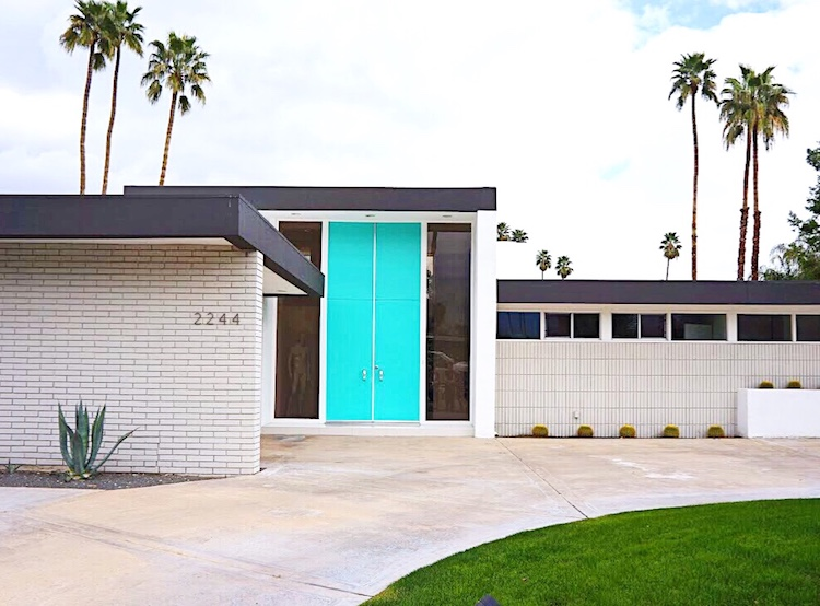 Teal Door Palm Springs