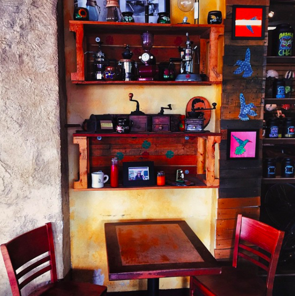 Antigua Coffee House // image via  @suedeexpression